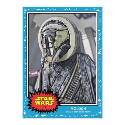 2019 Topps Star Wars Living Set Card #14 Moloch Same Day Ship In Hand **********