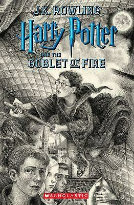 Harry Potter and the Goblet of Fire  (ExLib) by J. K. Rowling