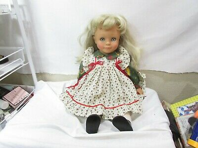 Engel-Buppe  18' Doll Blonde Long hair Blue Eyes Outfit Collectors