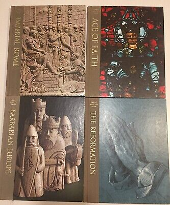 Time Life Great Ages of Man Series Hardcover Book lot Of 4 Books
