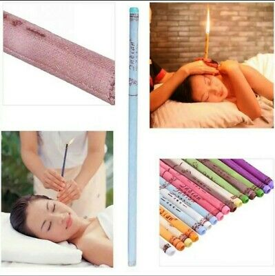 50 Pcs Ear Wax Removal Candle Beeswax Taper Candles Natural Ear Wax Candles