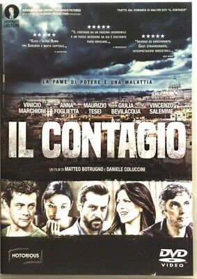 DVD the Contagion with Vincenzo Salemme 2017 Used