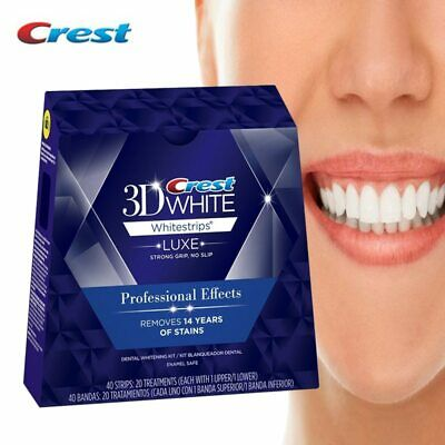 3D White Whitestrips Luxe Professional Effects Oral Hygiene Care Tooth Whiter