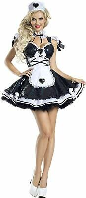 Party King Marvelous Cameriera Francese Sexy Adulto Donna Halloween Costume