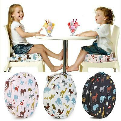 Kids Increased Chair Pad Anti-skid Baby Child Dining Chair Cushion Booster Seats
