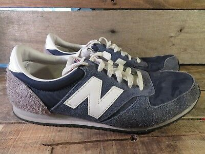 NEW BALANCE 520 Classic 70s Running Mens Blue Yellow Suede