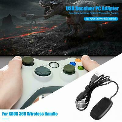 For Microsoft Xbox 360 Windows Wireless Receiver Game Controller Adapter Y9J5F