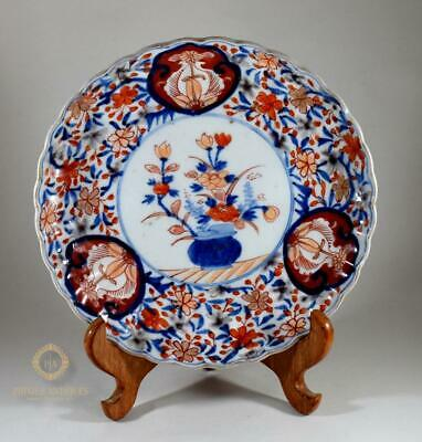 Antique 19Th Century Meiji Period Japanese Arita Imari Porcelain Plate