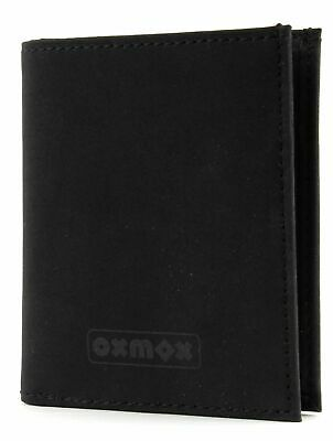 oxmox Purse New Cryptan Pocket Cards II Black