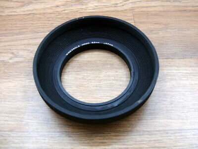 Rubber wide angle 62mm lens shade.