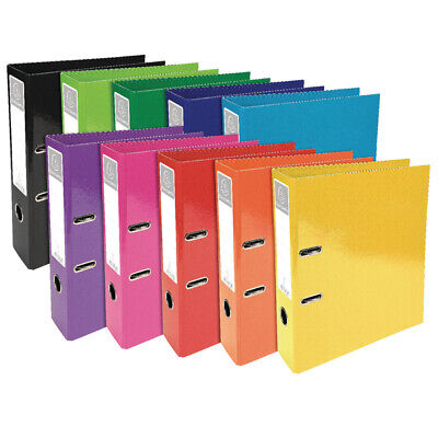 Iderama Lever Arch File 70mm Assorted 53629E Pack of 10