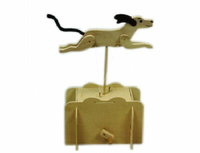 Pathfinders Make Your Own Running Dog Automata Wooden Kit 27443