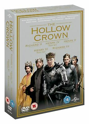 The Hollow Crown: Series 1 and 2 (Box Set) [DVD] SUPERB MINT SEALED QUALITY ITEM