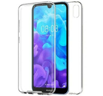 Funda Completa Transparente Pc + Tpu Full Body 360 para Huawei Y5 2019