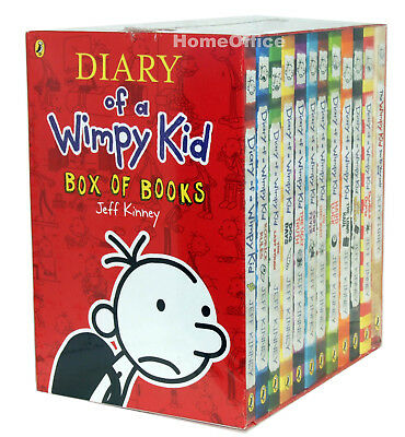 Diary of a Wimpy Kid Box Set Collection - 12 Books