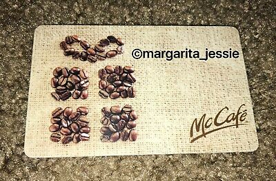 Mcdonald's Coffee Beans Arch Gift Card 2011 Canada No Value Collectible New