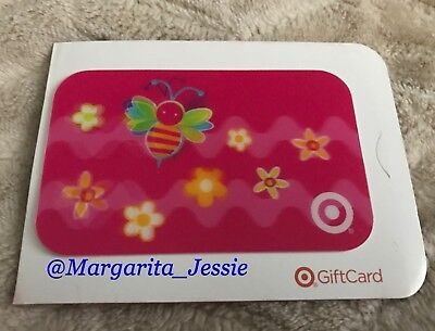Target 2004 Lenticular Gift Card Cute Little Bee & Daisies No Value New