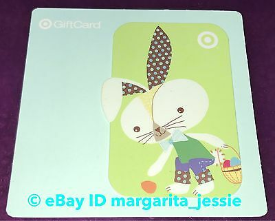 Target Gift Card Easter Bunny Polka Dots No Value Collectible U.s. 2011 New