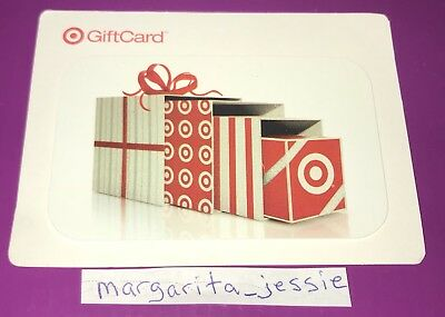 Target Gift Card 2008 Gift Box In A Box No Value Collectible New
