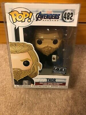 Thor 482 FYE Exclusive Endgame Sold Out New Funko Pop W/ Pop Protecter