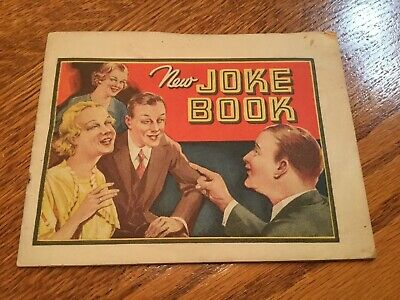 Early Vintage Dr. Miles Nervine New Joke Book HTF