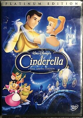 Cinderella DVD 2005 ~ Special Platinum Edition 2-Disc Set