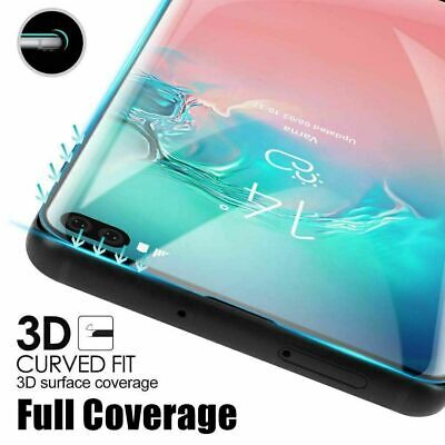 Tempered Glass Full Cover Screen Protector For Samsung Galaxy S10 Plus 5G E S9