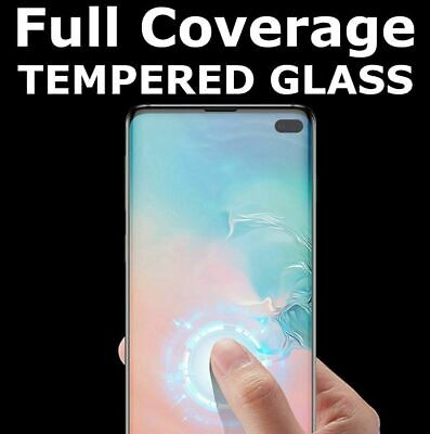 Tempered Glass Screen Protector For Samsung Galaxy S10 Plus 5G E S9 S8 S7 Edge