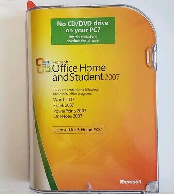 Microsoft Office 2007 Home and Student & Microsoft Office Outlook 2007