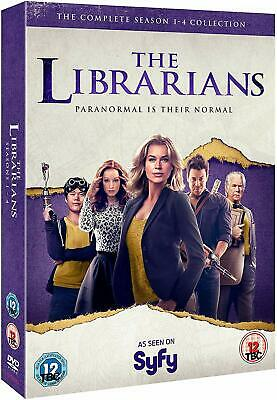 THE LIBRARIANS 1-4 (2014-2018) COMPLETE TV Season Series - NEW Eu Rg2 DVD not US