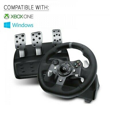 Logitech G920 Driving Force Racing Wheel for Xbox One & PC - In STOCK