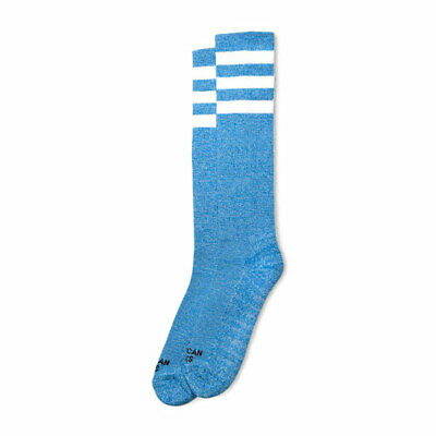 American Socks Blue Noise Knee High Socks Blue - 19 Inch