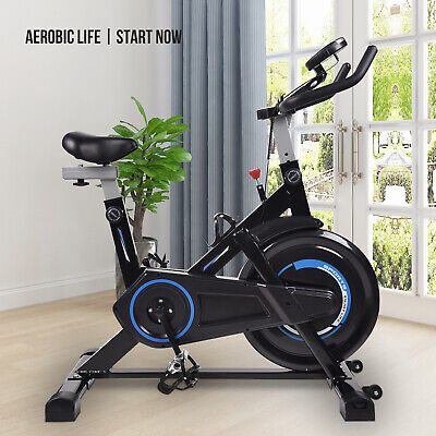Indoor Exercise Bike Trainer Stationary Bicycle Cycling Cardio Fitness Workout