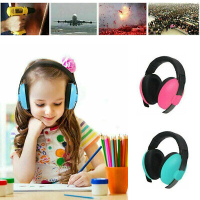 Baby Kids Ear Defenders Autism Muffs Noise Reduction Protectors Children Toddler