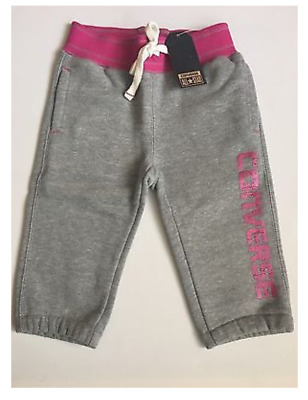 CONVERSE Fleece Joggers Trendy Girls Bottoms Pants 3 Quarter 3/4 Various Style