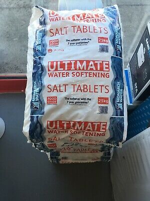 SALT Tablets 25kg Ultimate Water Softener