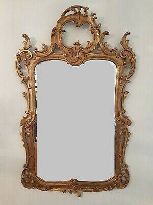 Louis xv antique style Carved Giltwood Mirror from Harrods