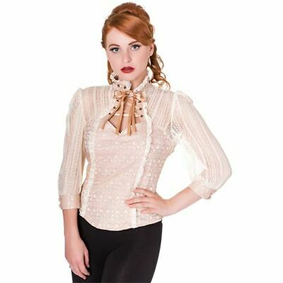 Banned Alternative Bluse Widow Blouse BL1414