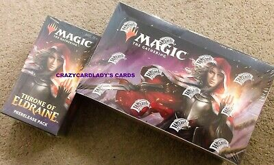 Magic Throne Of Eldraine Booster Box & Prerelease Kit Pack Buy More & Save