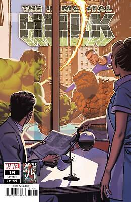 The Immortal Hulk  # 16 Smallwood Marvels 25Th Tribute Variant  Marvel Comics