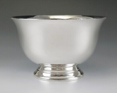 "Vintage Tiffany & Co Sterling Silver Paul Revere Style Bowl 5.25"" NO MONO"
