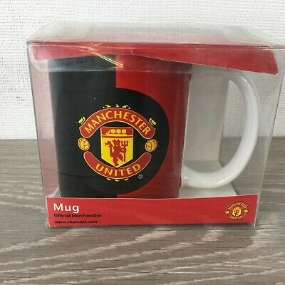 Official Manchester FC Mug Tea Coffee Cup Red  R612
