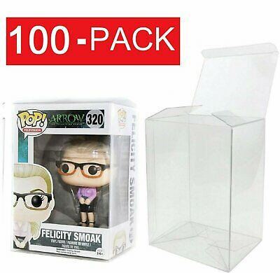 "100-Pack Collectibles Funko Pop Protector Case for 4"" inch Vinyl Figures"