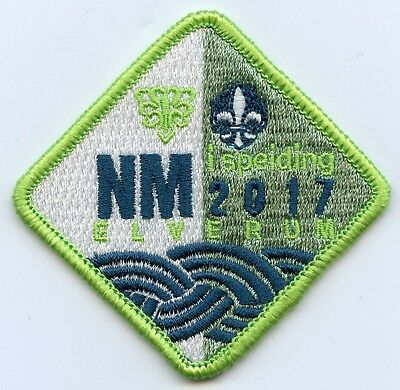 Sea Scout of Norway National Emblem Patch 3.5 inches on thick Black felt