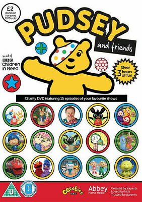 BBC Children In Need Pudsey And Friends CBeebies Favourites DVD New & Sealed