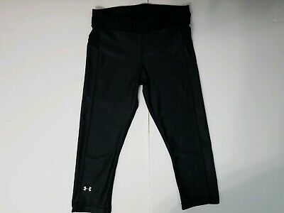Under Armour  Girls Youth Large Capri Leggings  Geometric pattern Fitted