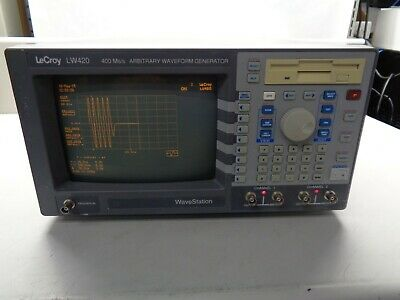 Lecroy LW420 WaveStation Arbitrary Waveform Generator 400 Ms/s 100 Mhz LCD