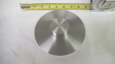 """150mm or 5-15/16"""" Aluminum disc, .262 thick, machined, used"""