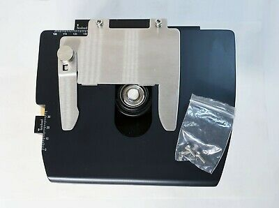 Leica DM500 Microscope Stage w/ 0.90/1.25 Oil S1 Condenser Lens - Nice!