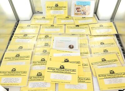 "Large Job ""Heritage American First Ladies Coin & Stamp Collection"""